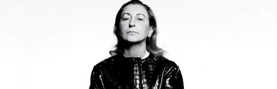 As 3 principais coleções de Miuccia Prada, que faz 73 anos hoje!